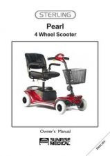Buy Mobility Scooter SUNRISE-PEARL Operating Guide by download Mauritron #325121