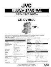 Buy JVC GR-DVM80U Service Manual by download Mauritron #279239
