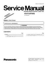 Buy Panasonic FLB755G_2 Manual by download Mauritron #299284