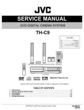 Buy JVC TH-C9 Service Manual by download Mauritron #283825