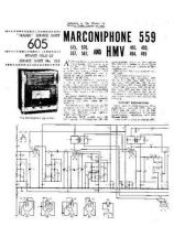 Buy MARCONI 576 Vintage Service Information by download Mauritron #316165