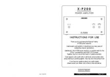 Buy Musical Fidelity XPLORA Operating Guide by download Mauritron #326952