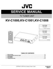 Buy JVC KV-C1000J Service Manual by download Mauritron #275369