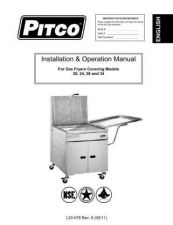 Buy Pitco L20-078 Instructions by download #333634