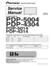 Buy Panasonic PDP-4314-KUC Manual by download Mauritron #300937