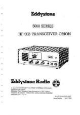 Buy Eddystone Orion 5000 service manual by download Mauritron #316589
