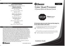 Buy Swann QPRO4V1 Instructions by download #336443