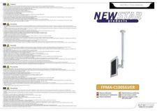 Buy Newstar FPMA C100SILVER Audio Visual Instructions by download #333477
