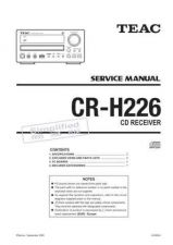 Buy Teac CR-H257i Service Manual by download Mauritron #319335