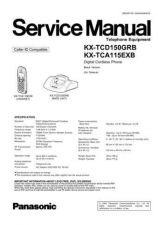 Buy Panasonic KX-TCA255E Manual by download Mauritron #299922