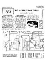 Buy Ferranti SRG1073 Equipment Service Information by download #335982