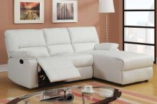 Buy New Arrival Recliner Sectional Sofa Furniture Leather Sectional Couch in 8 Color