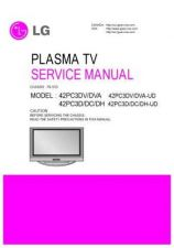 Buy LG 42PC3D Service Manual by download Mauritron #322476