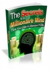 Buy SECRETS OF A MILLIONAIRE MIND-PDF EBOOK-MRR MASTER RESELL RIGHTS