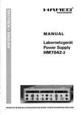 Buy Hameg HM7042 2 D E Operating Guide by download Mauritron #307216