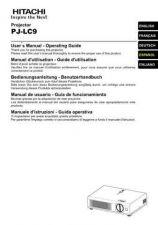 Buy Hitachi PJ-LC5_IT Service Manual by download Mauritron #290683