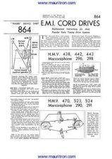 Buy HMV. 443. Drive Cord Arrangement by download Mauritron #307369