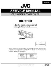 Buy JVC KS-RF100 Service Manual Circuits Schematics by download Mauritron #275366