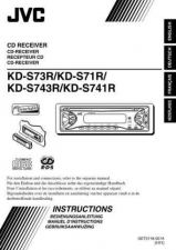 Buy JVC KD-S743RKD-S741R-2 Service Manual by download Mauritron #282198