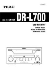 Buy Teac DR-L700GIN Operating Guide by download Mauritron #318572