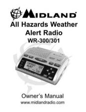 Buy Midland WR300-301 Manual Revised 31108 Weather Radio Operating Guide by download Maur