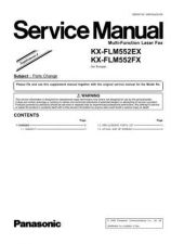 Buy Panasonic FLM552EX_FX_SUP4 Manual by download Mauritron #299312