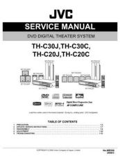 Buy JVC TH-C3-9 Service Manual by download Mauritron #276791