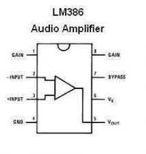 Buy LM386N-1 Low-Voltage Audio Power Amplifier IC (2-Pieces)
