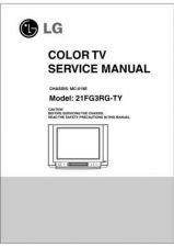 Buy LG svc manual 21FG3RG-TY Manual by download Mauritron #305955