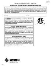 Buy Honeywell beaconmorris unitheatermanual Operating Guide by download Mauritron #316638