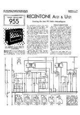 Buy REGENTONE. AUTO 99. Vintage. Service Sheets by download Mauritron #326312