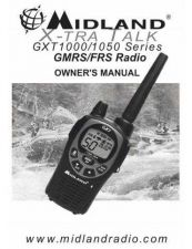 Buy Midland GXT1000 Owner's Manual 2 Way Radio Operating Guide by download Mauritron #317