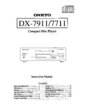 Buy Onkyo DX788Fom Service Manual by download Mauritron #330871