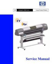 Buy Hewlett Packard DESIGNJET 5000 5000PS Service Manual by download Mauritron #320519