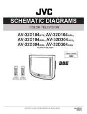 Buy JVC AV-32D104SCH Service Manual by download Mauritron #278912