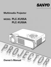 Buy Sanyo PLC-XU50A Operating by download Mauritron #325324