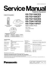 Buy Panasonic TG1100CE Manual by download Mauritron #302254