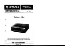 Buy Hitachi VT-2100A-2 Service Manual by download Mauritron #287039