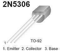 Buy Transistor - 2N5306 NPN Darlington (TO-92) - 16 Pieces