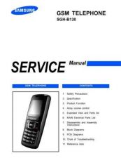 Buy 20080703121241406 SGH-B130-COVER-1 Manual by download Mauritron #303070