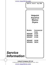 Buy Hotpoint WD420 by download Mauritron #321995