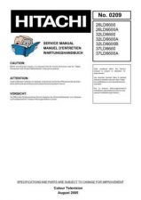 Buy Hitachi 37LD6600A Service Manual by download Mauritron #323112