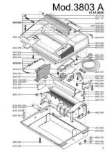Buy Office Equipment IDEAL 3803 A SHREDDER PARTS(1) by download #335527
