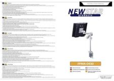 Buy Newstar FPMA D930 Audio Visual Instructions by download #333515