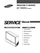 Buy Samsung HCR4755W Service Manual by download Mauritron #322586