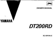 Buy Yamaha 3CJ-28199-22 Motorcycle Manual by download #334046