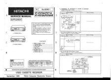 Buy Hitachi VT-F770E-770775E-CT Service Manual by download Mauritron #287226