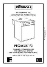 Buy FERROLI PEGASUS F3 by download Mauritron #324292