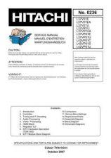 Buy Hitachi L37V01E Service Manual by download Mauritron #323185
