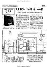 Buy ULTRA T611 Vintage Service Sheets by download Mauritron #328995